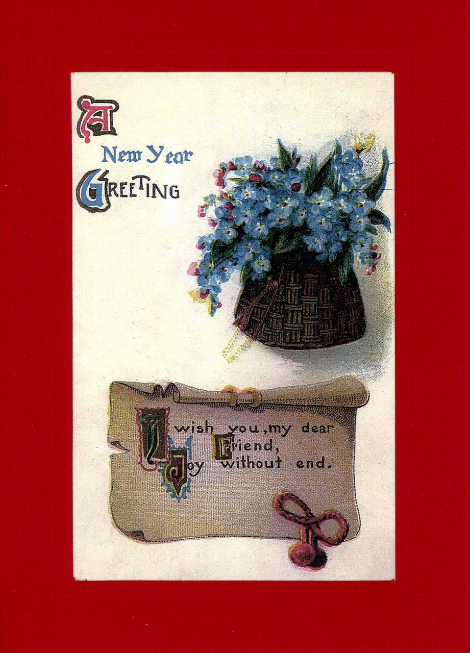 A New Year Greeting - PLYMOUTH CARD COMPANY