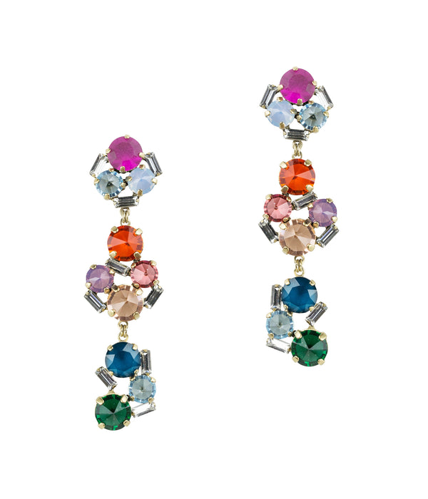 CHARLOTTE STATEMENT EARRINGS IN MULTI