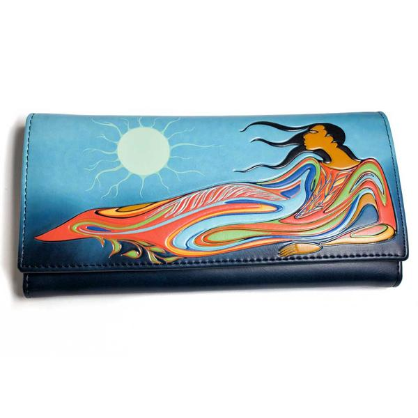 'Mother Earth' Wallet by Maxine Noel