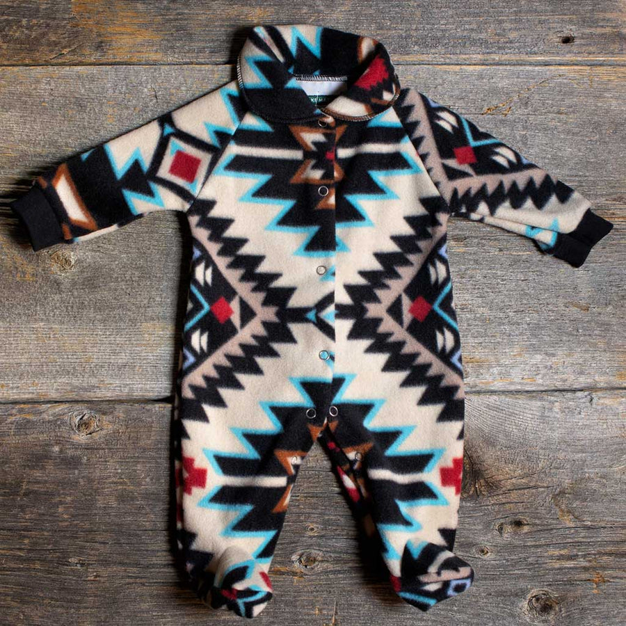 'Shadow Diamond' Baby Romper