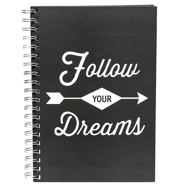 "Follow Your Dreams Hardcover Journal (7.5""x10"")"