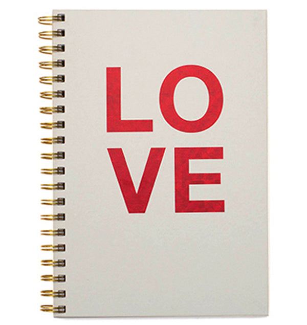 "LOVE Hardcover Journal (7.5""x10"")"