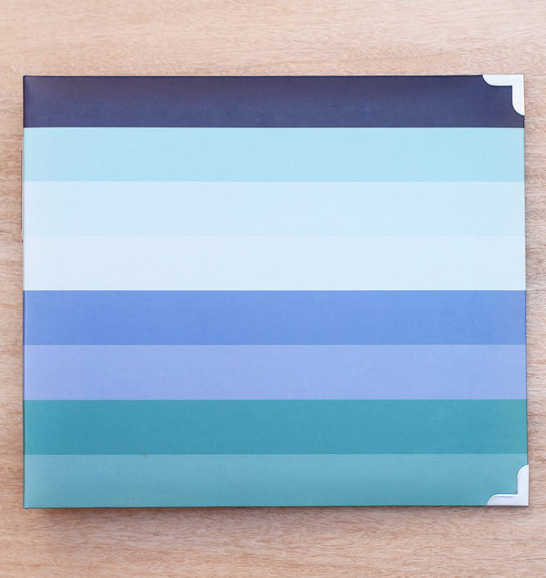 Project Life 12 x 12 Baby Boy D-Ring Matte Paper Album Actual