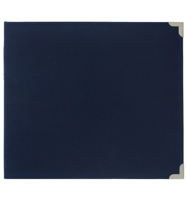 "Project Life 12"" x 12"" Cobalt Navy Cloth D-Ring Album Front"