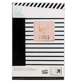 Heidi Swapp Best of Times Life Theme Album Book Front Cover Design in Packaging