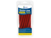 "5/8"" x 20' Red  Solid Braided Poly Dock Line w/ Chafe Guard For Boats up to 45' - Sold Individually, Case Pack = 4"