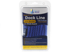 "1/2"" x 25' Blue Polypropylene Dock Line with Chafe Guard - For Boats up to 35' -  Sold Individually, Case Pack = 4"