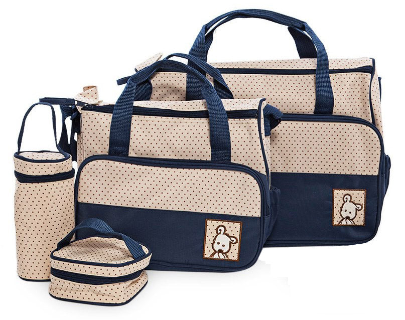 Multi Function Baby Bag Set - Blue