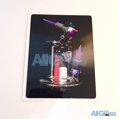 4.0 Glass - Torch Rig Sticker , Lifestyle - AllGlass.com, AllGlass.com