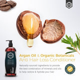 Anti Hair Loss Conditioner - Argan Oil & Organic Botanicals - 16 Fluid Oz