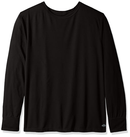 Dickies Men's Big and Tall Tech Mesh Baselayer Thermal Top Black XX-Large Tall