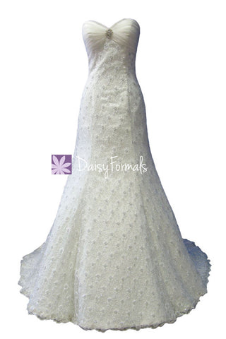 Appealing Lace Wedding Dress / Trumpet Bridal Gown (WDG005)