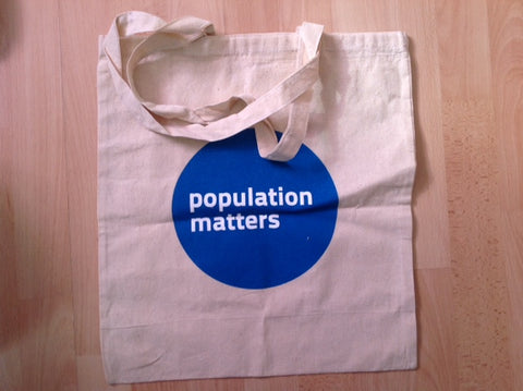 Population Matters tote bag - SALE