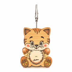 Bartolucci Clip Picture Holder Cat with big head