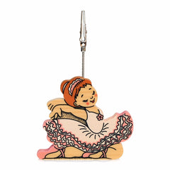 Bartolucci Clip Picture Holder Pink Dancer