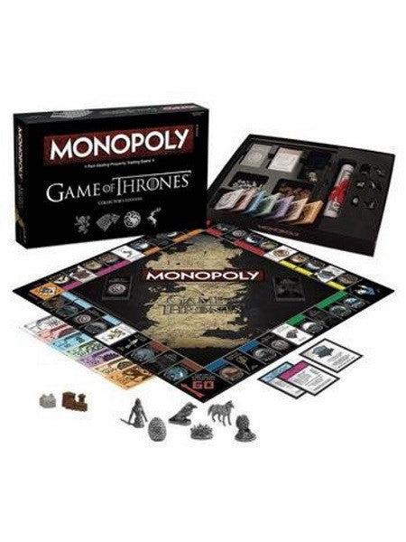 Monopoly The Game Of Thrones Deluxe