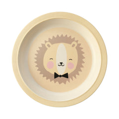 Bamboo plate Lovely Animals Friendly Lion - Eef Lillemor