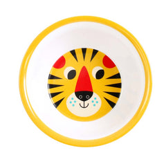 Melamine bowl Tiger Face by Ingela P Arrhenius for Omm Design