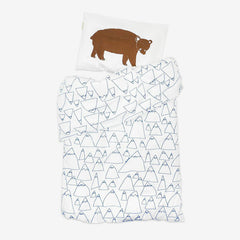 Bruno & Mountains baby bed set by Fine Little Day