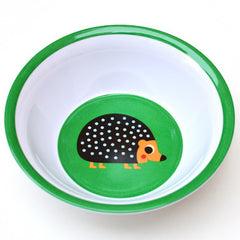 Melamine bowl hedgehog by Ingela P Arrhenius for Omm Design