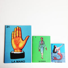 Notebooks La Sirena, La Dama and La Mano by Kitsch Kitchen
