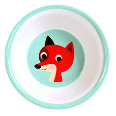 Melamine bowl mint Fox by Ingela P Arrhenius for Omm Design