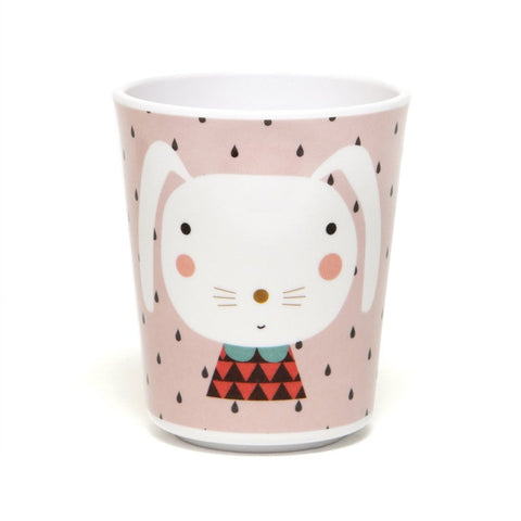Melamine cup Rabbit by Haciendo el Indio for Petit Monkey