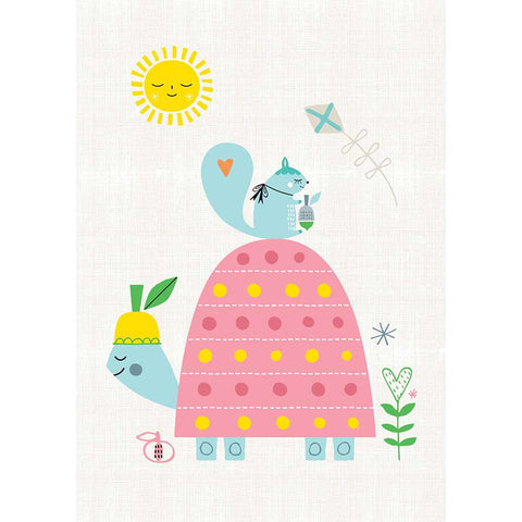 Slowcoach A3 print by Suzy Ultman for Petit Monkey