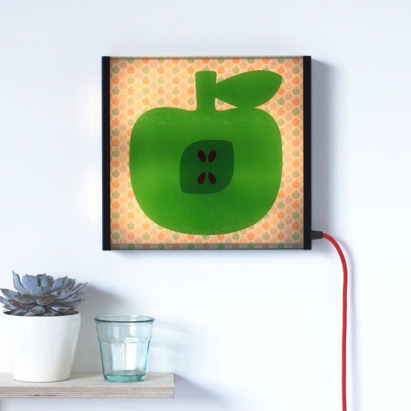Green Apple LED lightbox