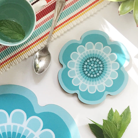 Flower Power Design - Coaster