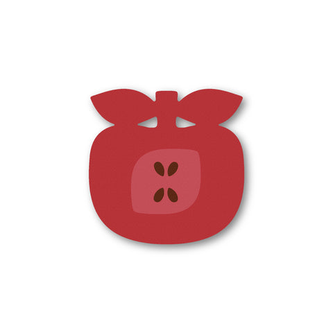 Apple Shaped Coaster