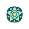 star coaster teal