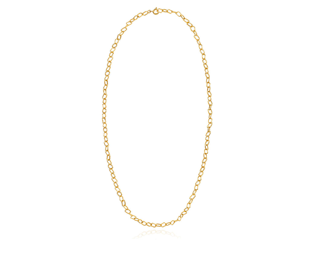 Chain Link Necklace Gold Maya Magal London