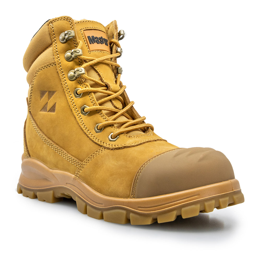 MASTER CONTRACTOR ZIP SIDE SAFETY WORK BOOTS 6MAS120