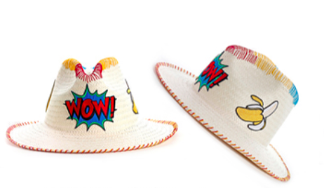 PANAMA PATCH HAT - WOW!