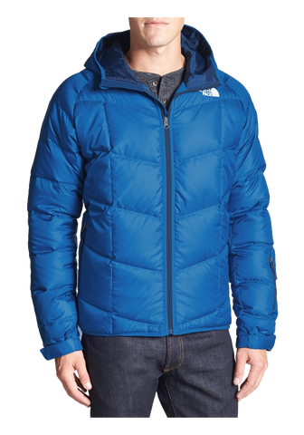 Gatebreak' Water Repellent 550-Fill Hooded Down Jacket