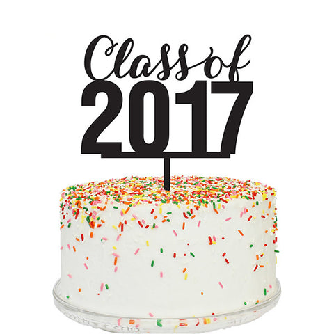 Class of 2017 Cake Topper