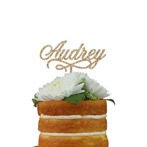 Custom Cake Topper- One Name or Word