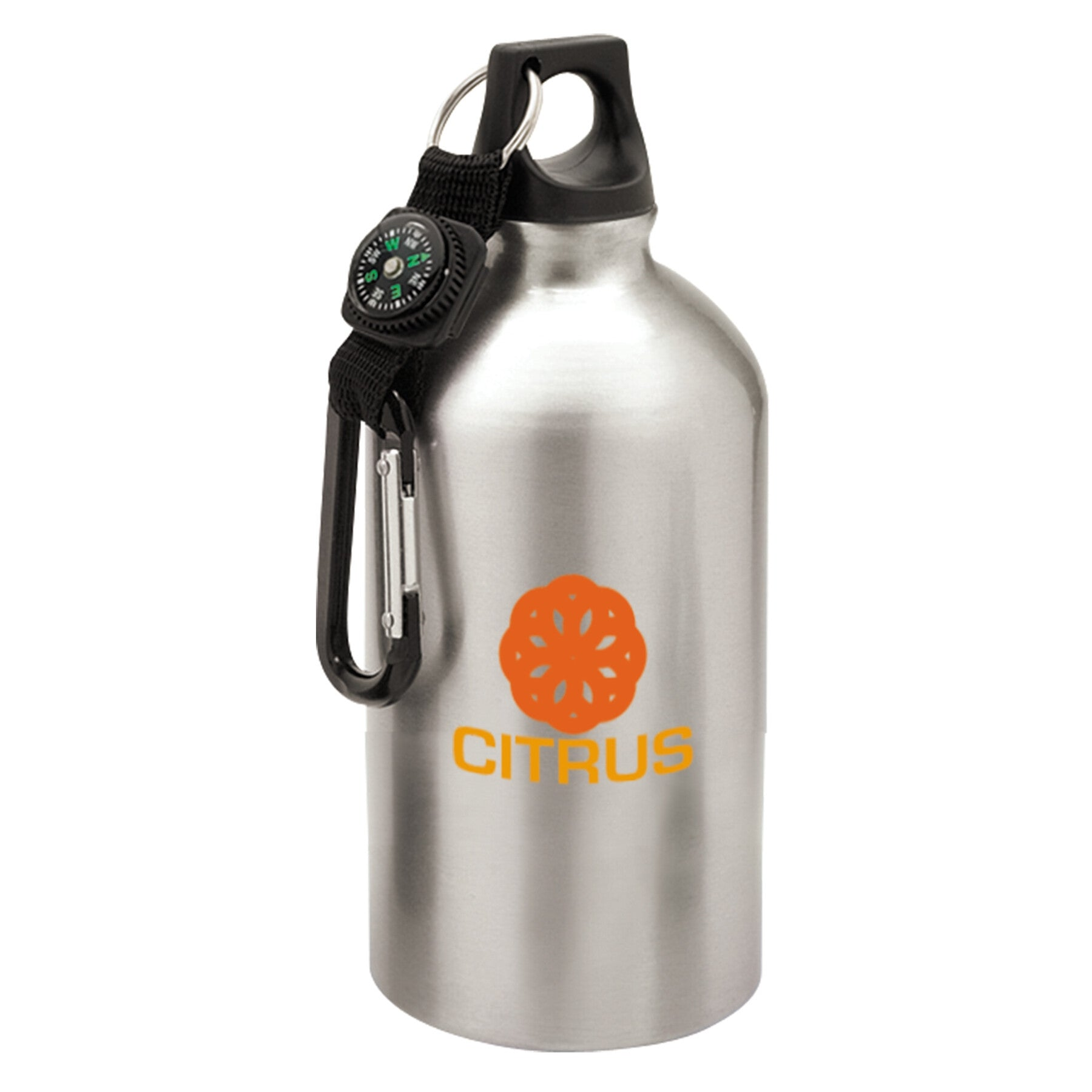 Aluminum Water Bottle with Compass