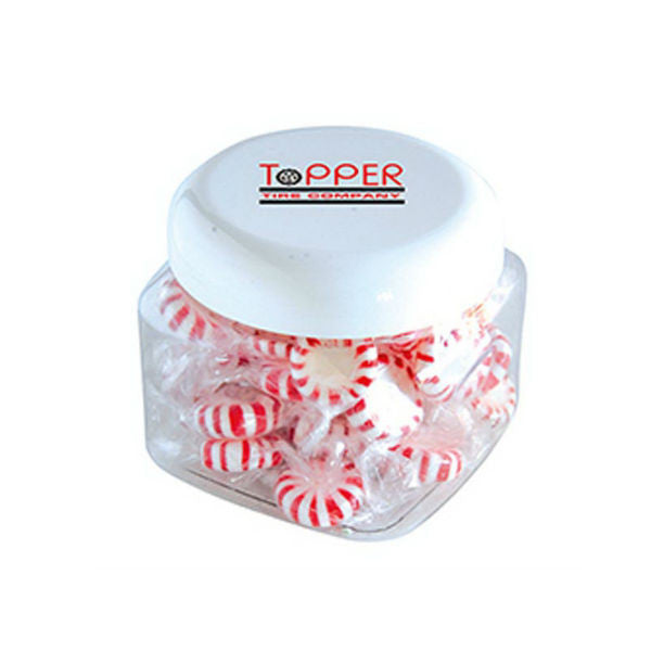 Candy Filled Plastic Canister