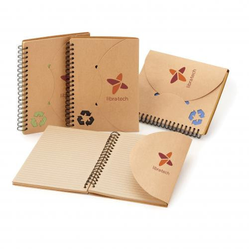 Die Cut Recycled Notebook
