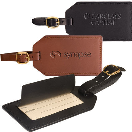Genuine Leather Luggage Tags