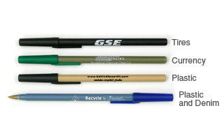 Recycled Plastic Ink Pens