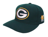 Green Bay Packers Snapback Vintage XL Logo Cap Hat Green