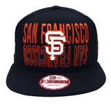 San Francisco Giants New Era City Reverse Snapback Cap Hat Black