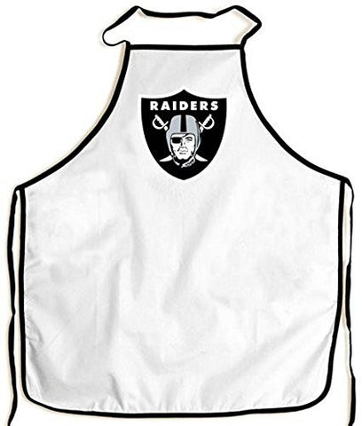 Oakland Raiders BBQ Fan Apron