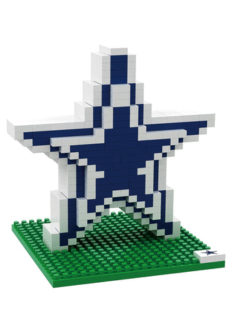 Dallas Cowboys 3D Logo BRXLZ Puzzle