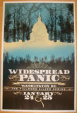 2012 Widespread Panic - DC Concert Poster by Chris Bilheimer