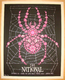 2010 The National - ACL Festival Concert Poster by Todd Slater