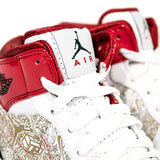 "AIR JORDAN 1 RETRO PHAT 20 ""VARSITY RED"" 2010 395664-101"
